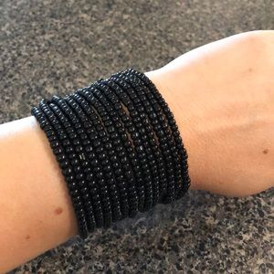 Jewelry - Black bracelet.